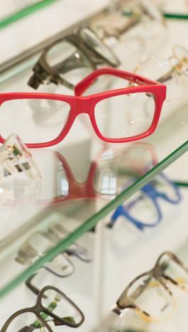 Große Brillenauswahl